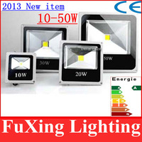 Newest ! Ultra Thin 10W 20W 30W 50W LED Floodlight Outdoor Light 1000LM 2000LM Waterproof IP66 AC 85-265V free shipping 2 pcs