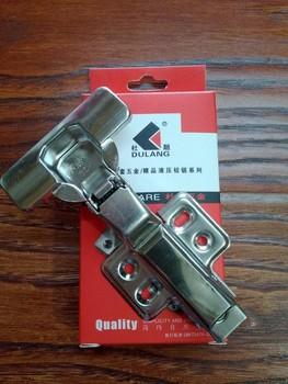 304 stainless steel * hydraulic buffer damping hinge, furniture hinge, cupboard door hinge, Half cover spring hinge