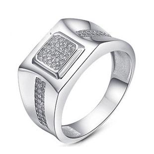 ring männer ring 925 rein silber Platin fingerring personalisierte