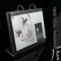 6 l frame acrylic calendar frame personality imitation crystal frame quality photo frame multicolor