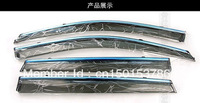 Window Visor Vent Shades Sun Rain Guard For Toyota Corolla E140 2007 2008 2009 2010 2011