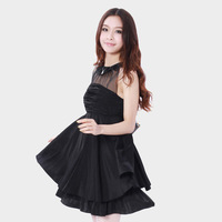 Women's one-piece dress one-piece dress women's sweet princess dress female summer one-piece dress