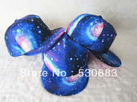 Galaxy Snapback hats 2013 popular Star Cloth Series hip hop cap baseball cap 6style ! Free shipping!!