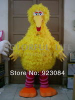 Sesame Street Big Bird Mascot costume Adult Fancy Dress Cartoon Party Outfits Suit Free Shipping