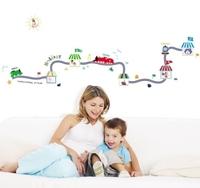 Free Shipping Wall stickers boy child cartoon sticker thomas