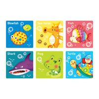Free Shipping Wall stickers bathroom waterproof tile stickers floor bathtub slip-resistant stickers fish