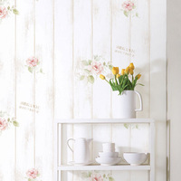 Free Shipping Pvc wallpaper rustic sticky notes furniture wood grain paper