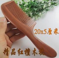 Retail--1PCS High quality Natural paorosa comb hand-made comb wood comb Q1