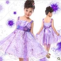 2014 summer baby girl dresses little children princess dress tulle dress strap dress