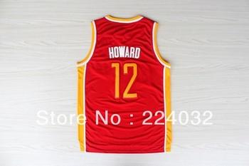 Houston #12 Dwight Howard Retro new fabrics jersey and free shipping