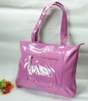 Fashion women's bags japanned leather shiny solid color shoulder bag ol work bag female street casual bag