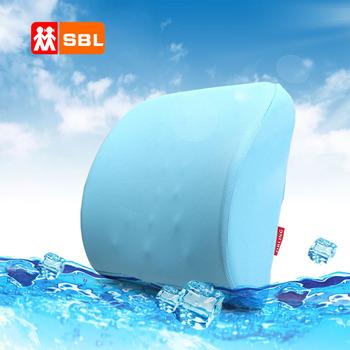 Bird eye cloth massage memory cotton memory foam lumbar pillow tournure cushion car waist support cushion