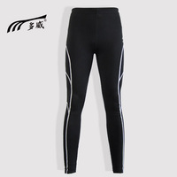 Tights winter fitness running ankle length trousers thickening professional track pants