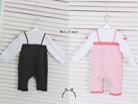 Aykta interspersion female child lace suspender skirt princess one-piece dress hot-selling