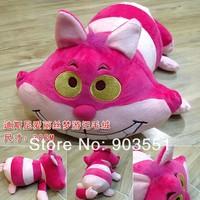 "Cartoon Alice in Wonderland 12""  Cheshire Cat animal  Plush Doll Soft Toy Free Shipping"