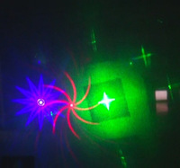 New laser 50mW Green + 100mW Red + 100mW Blue DJ Laser Stage lights