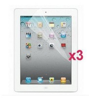 new 3pcs/lot Wholesale Clear LCD Screen Protector Film Guard for Apple iPad 2 3 4 Free Shipping best price