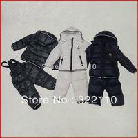 2013 Winter Warm Down coat Down jacket Baby boy wear Thickening Fashion Brand 100-140cm Children Parkas
