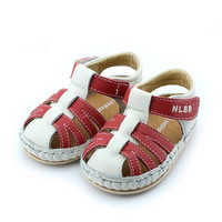 Baby summer male baby non-slip toddler shoes sandals soft outsole genuine leather nb2068