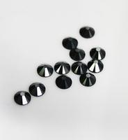 Free Shipping 1440pcs/LOT ss20 (4.6-4.8mm) Jet Black Hematite Flat Back Nail Art Glue On Non Hotfix Rhinestones Art jewelry DIY