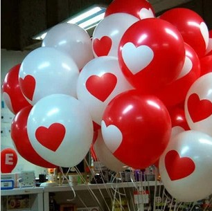 "Free shipping 12 "" dot thickened latex balloon birthday balloon wedding wedding party decoration"