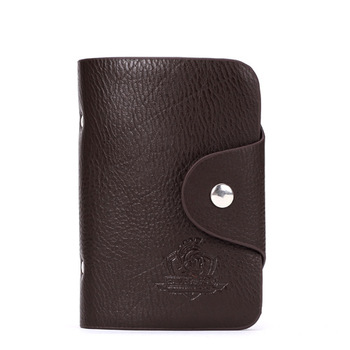 Male card holder soft leather card holder card case bag multi card holder bank card holder credit card sets card book
