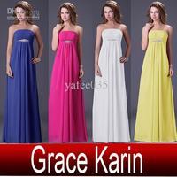 2013 fashion high waist tube top bridesmaid dress wedding dress long design formal dress formal dinner dress maternity