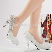 2014 high-heeled shoes lacing velvet platform wedding shoes//hot sellers