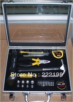 Genuine Red 26pc boutique household tools aluminum box 019026