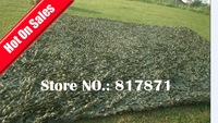 3X4m Green Grass Land Camouflage Net for Military CS Training Outdoor Sunshade Net Screen Awnings,Room Garden Decoration NB34