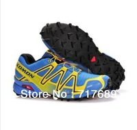 Free shipping Hot 2013 new high quality brand Salomon Men running shoes sneakers 14 colors 40-45