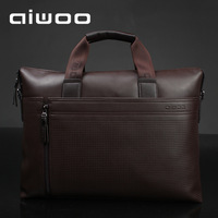 Free shipping for Aiwoo 14 15.6 laptop bag male business casual backpack one shoulder briefcase