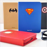 hero series round notebook vintage solid color diary and art maker notepad for office, school