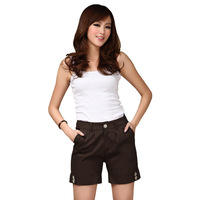 2013 plus size clothing pants mm plus size plus size 100% Large cotton shorts