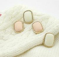 Free Shipping    Fashion Jewerly Han edition earrings ShanZuan crown heart-shaped joker pearl stud earrings earrings