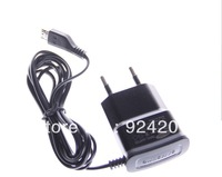 10pcs/lot,EU Micro USB Travel Adapter Wall Charger For Sam Sung Galaxy S3 i9300 9100 9220 free shipping