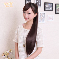 Lady's Wig Pony Tail Straight Pony Tail longer Thicker Straight Hair Pony Tail 70CM Free Shipping