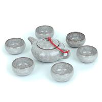 Top Yixing ceramic tea calvings glaze tea set teapot and cups  Combination set of teapot and cups
