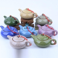 Top Calvings glaze yixing ceramic teapot