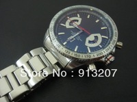 Free shipping! Duplex stainless steel men watches popular luxury sapphire crystal