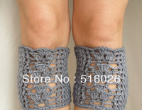 crochet boot cuffs, leg warmer Boot Topper Boot Sock Ankle Warmer wholesale fashion accessory 3pairs/lot