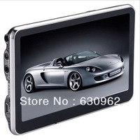 cheap 5 inch Car GPS Navigator without Bluetooth 4GB memorey