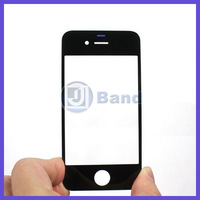 10pcs/lot For apple iPhone 4 4G 4S Black White Front Digitizer Touch Outer Glass Lens Screen Replacement Free Shipping