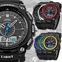 Fashion movement digital candy watch outside sport watch ohsen shockproof waterproof mens watch free shipping