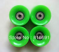 Free Shipping PU green 60Mm*45MM Skateboard Wheel Penny Skateboard Wheel longboard wheels