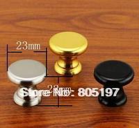 Furniture knobs ,Cabinet handle  Black/Sliver/Gold  3color available Zinc alloy 96 Hours salt mist testing