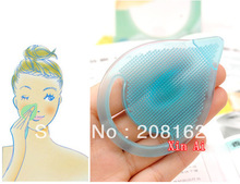 Wash Brush Pore Cleansing Massage Brushes Facial Cleansing Silicone Gel Pad Remover Clean Blackhead Horny Dead Skin(China (Mainland))