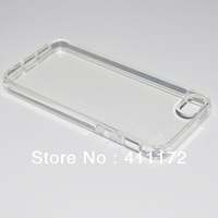 Ultra Thin Slim Transparent Clear Crystal Soft Silicone TPU Rubber Case Cover For iPhone 5 5S Wholesale Free Shipping 30pcs/lot