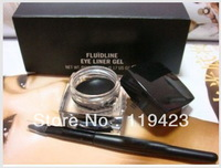 NEW Waterproof Eyeliner Gel Liner+Free brush 5G Black(10PCS/LOT)