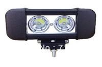 2pcs/lot ATV SUV Headlights 20W 1500 LM High Power Cree Led Work Light Bar Off- Road Driving Lamps